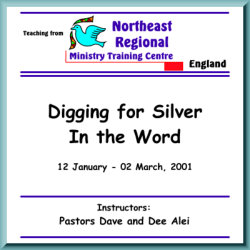 Digging for Silver in the Word