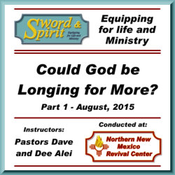 Could God be Longing for More?