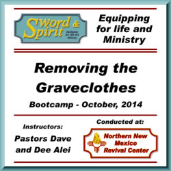 Removing the Graveclothes Bootcamp